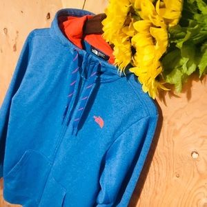 THE NORTH FACE Zip-Up Hoodie W-Medium M-Small